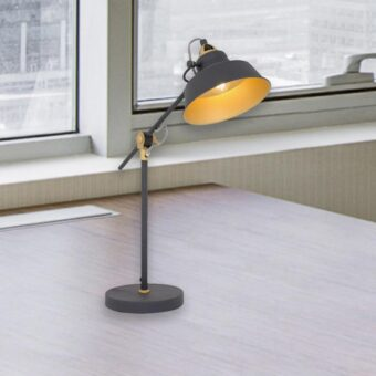 Adjustable Industrial Desk Lamp