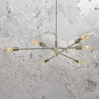 Adjustable Minimal Industrial Chandelier