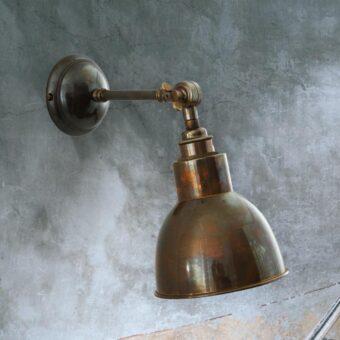 Antique Brass Adjustable Wall Light