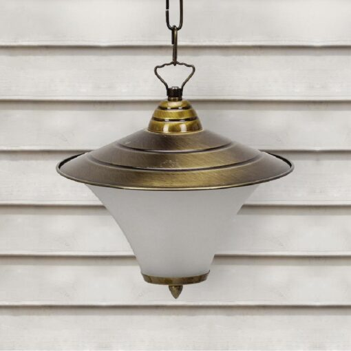 Antique Brass Exterior Vintage Hanging Lantern