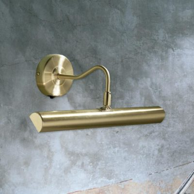 Antique Brass Picture Light