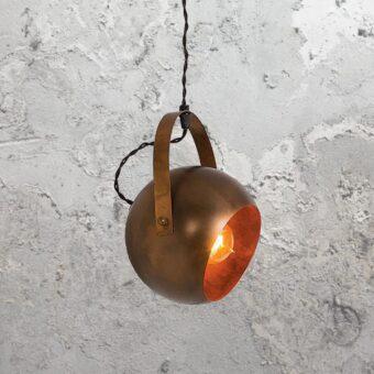 Antique Brass Spotlight Pendant