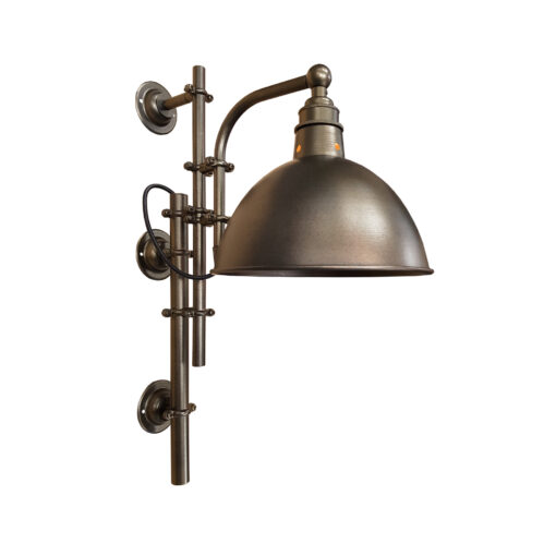 Antique Brass Steampunk Wall Light