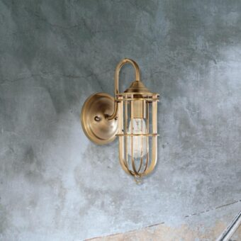 Antique Brass Wall Light