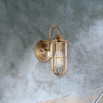 Antique Brass Wall Light