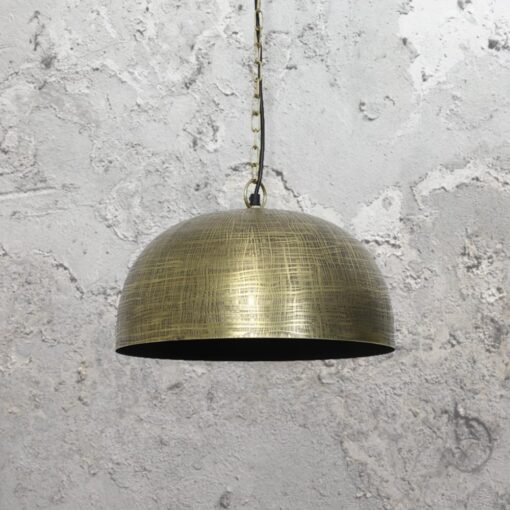 Antique Bronze Aztec Pendant Light