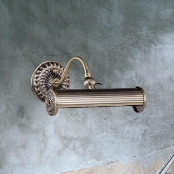 Antique Bronze Picture Light