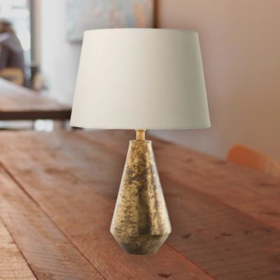 Antique Bronze Table Lamp Base