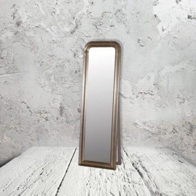 Antique Silver Floor Mirror