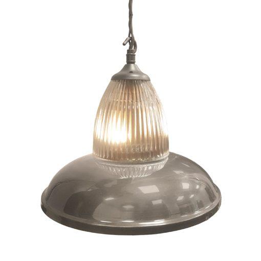 Antique Silver Glass Pendant Light,Industrial Traditional Glass Pendant Light
