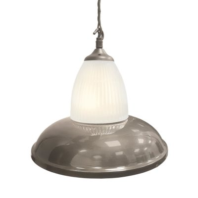 Antique Silver Glass Pendant Light,Industrial Traditional Glass Pendant Light
