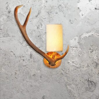 Antler Wall Light