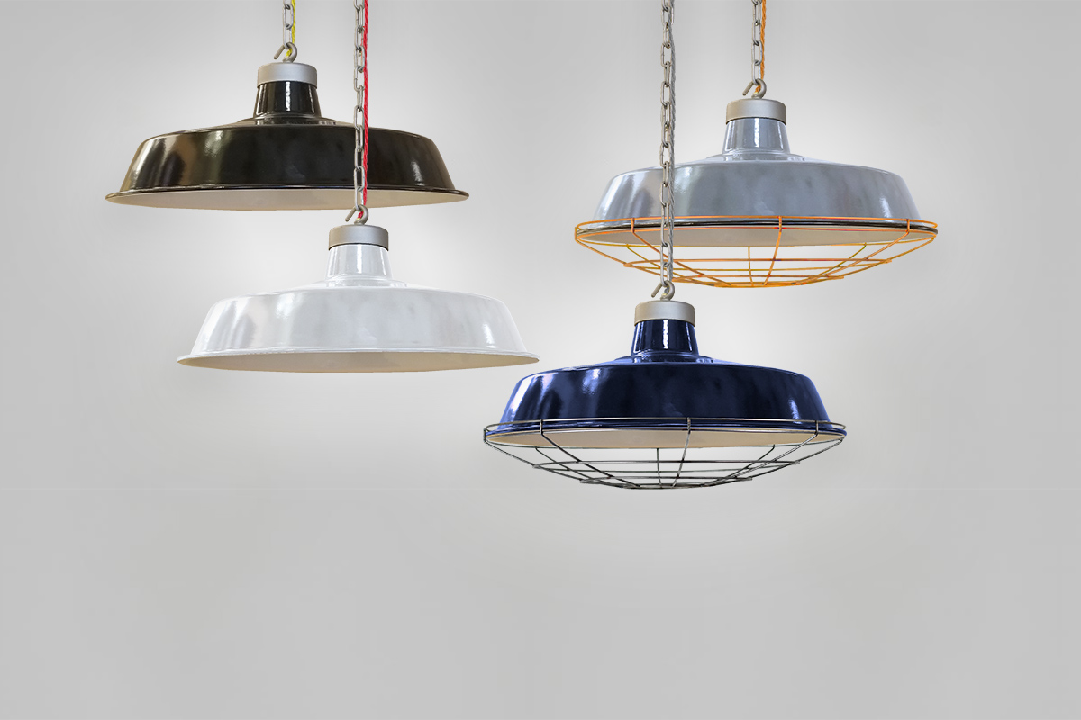 Authentic Hand Enamelled Pendant Lighting