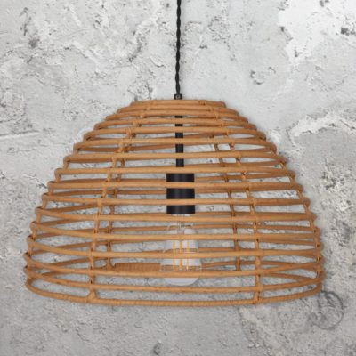 Bamboo Cage Pendant Light