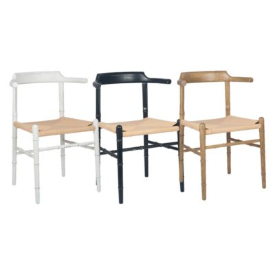Bamboo Dining Chair With Arms