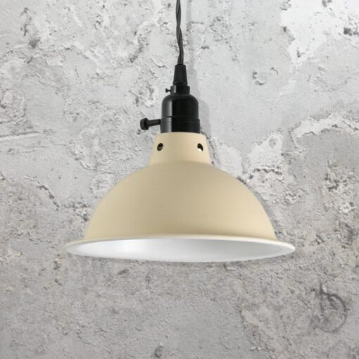 Beige Pendant Light
