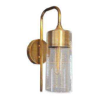 Bespoke Antique Brass Wall Light