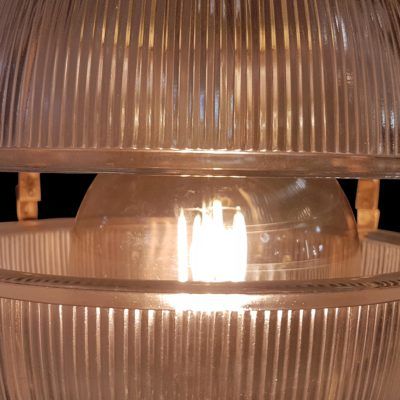Bespoke Prismatic Glass Orb Pendant Light