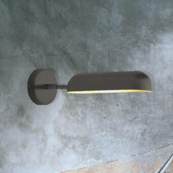 Black Adjustable Contemporary Wall Light