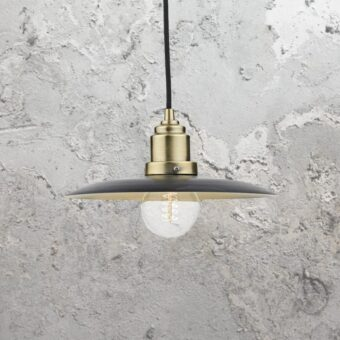 Black Antique Brass Pendant Light