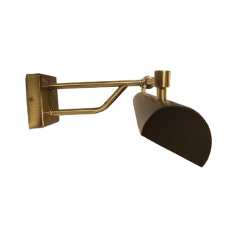 Black Brass Long Vintage Picture Light