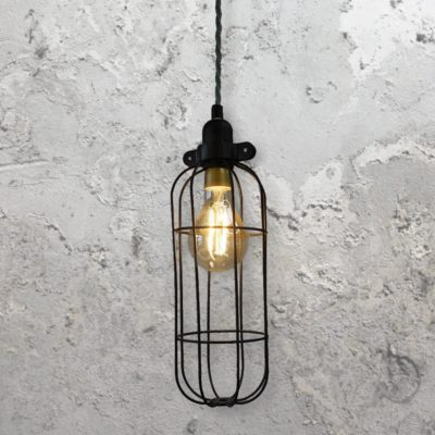 Black Cage Light