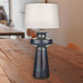 Black Ceramic Base Table Lamp
