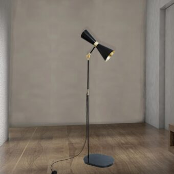 Black Contemporary Floor Lamp