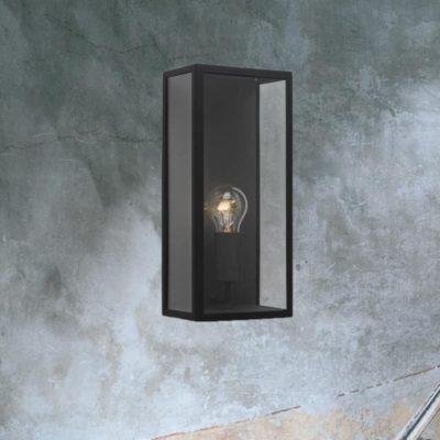 Black Exterior Wall Light