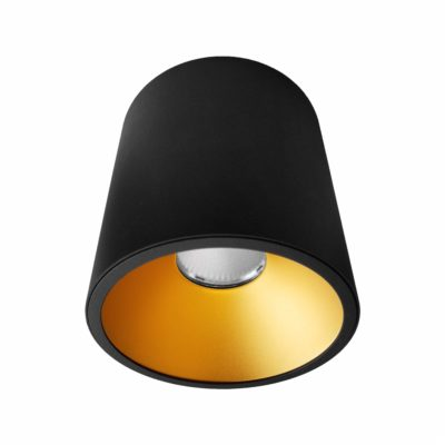 Black Gold Surface Mounted LED Downlight