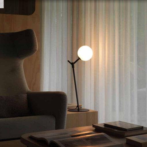 Black Modern Table Lamp