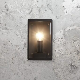 Outdoor Black Modern Wall Lantern