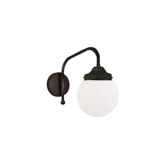 Black Opal Globe Wall Light