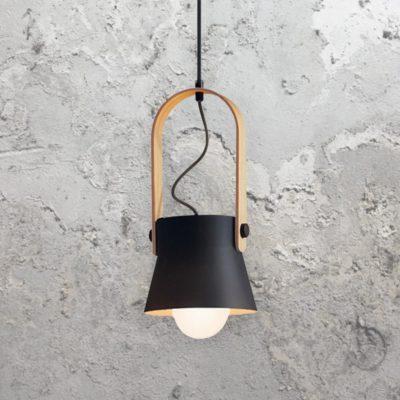Black Scandinavian Pendant Light