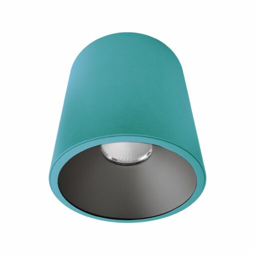 Blue Black Surface Mounted LED Downlight