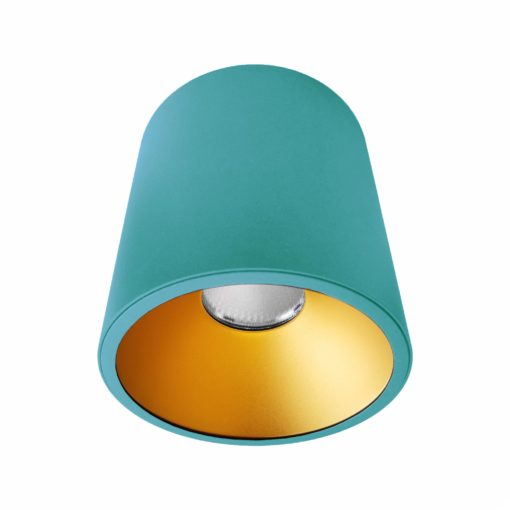 Blue Gold Surface Mounted LED Downlight