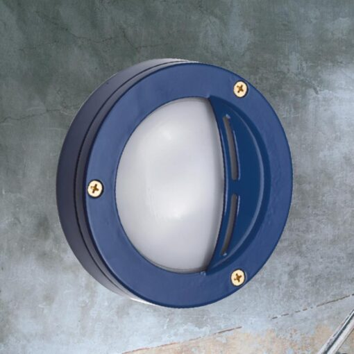 Blue Small Round Eyelid Bulkhead