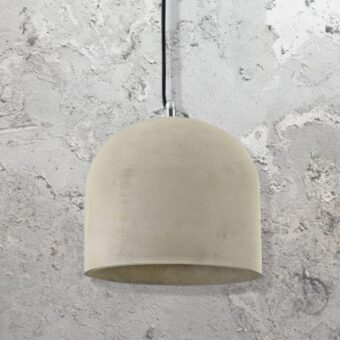 Bowl Concrete Pendant Light