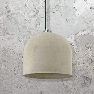 Bowl Concrete Pendant Light