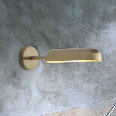 Brass Adjustable Contemporary Wall Light