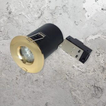 Brass IP65 Fire Rated Downlight