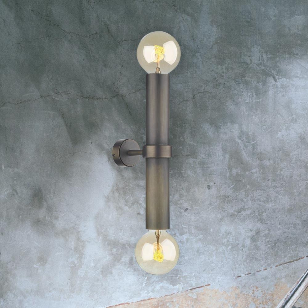 online store 27bb0 e9ddb Brass Up Down Wall Light CL-36765