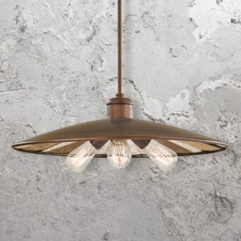 Bronze 3 Light Pendant