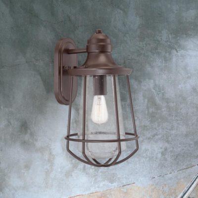 Bronze Outdoor Cage Lantern