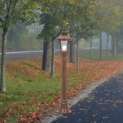 Bronze Post Lantern