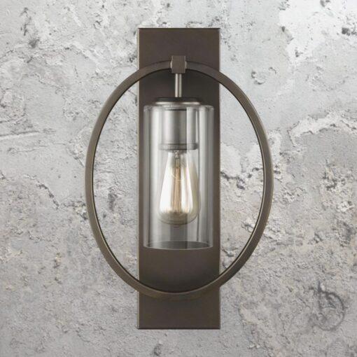 Bronze Ring Wall Light