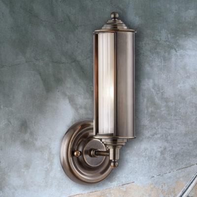 Bronze Victorian Edwardian Wall Lantern