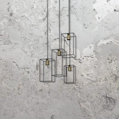 Square Cage Pendant Lights