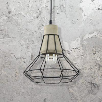 Cage Concrete Pendant Light CL-34801