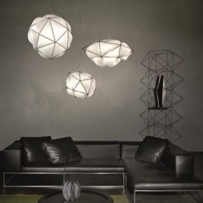 Cage Glass Pendant Light